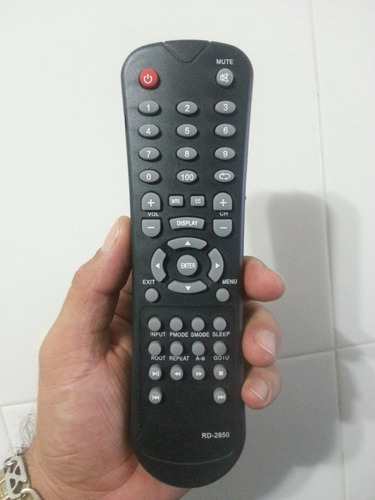 control de tv precision modelo: plcd3240bl