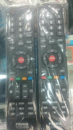 control de tv prima smart, lcd, led