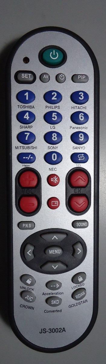 Control De Tv Universal Js 3002a Bs 2 500 000 00 En border=