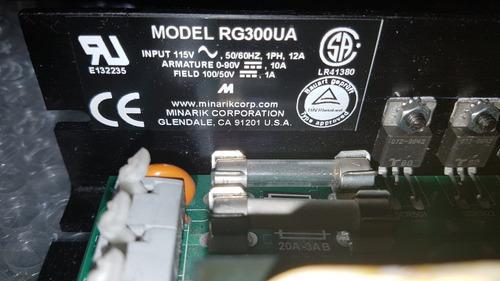 control de velociad rg300ua 90 vcd 1 hp power industrial