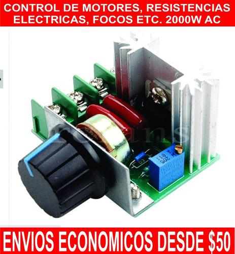 control de velocidad de herramientas electricas