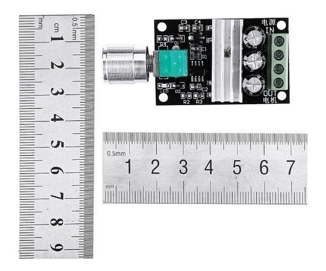 Control De Velocidad Motores Dc Pwm Dimmer - Hobby Arduino
