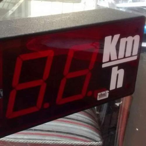 control de velocidad satelital hora gps incluida
