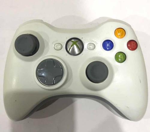 control de xbox 360 original blanco