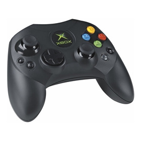 Control De Xbox Clasico Caja Negra Triple A