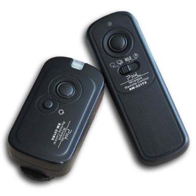 control disparador inalambrico p/ nikon d3100 100m 16ch mn4