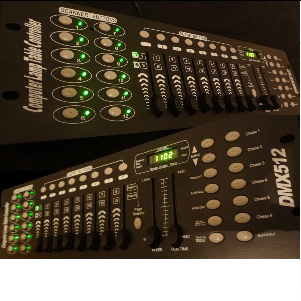 control dmx efectos iluminacion dj