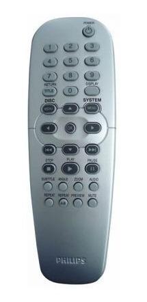 control dvd universal philips philco rc2k12 mayor/menor 1246