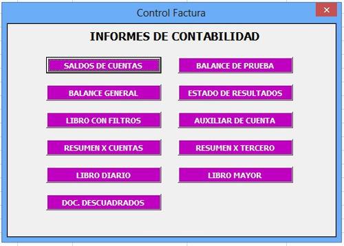 control factura - software contable y de facturación