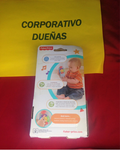 control fisher-price laugh & learn click 'n learn remote