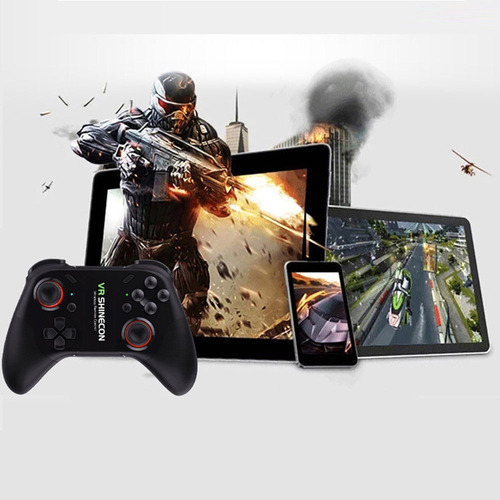 control gamepad android pc bluetooth shinecon s07c pc