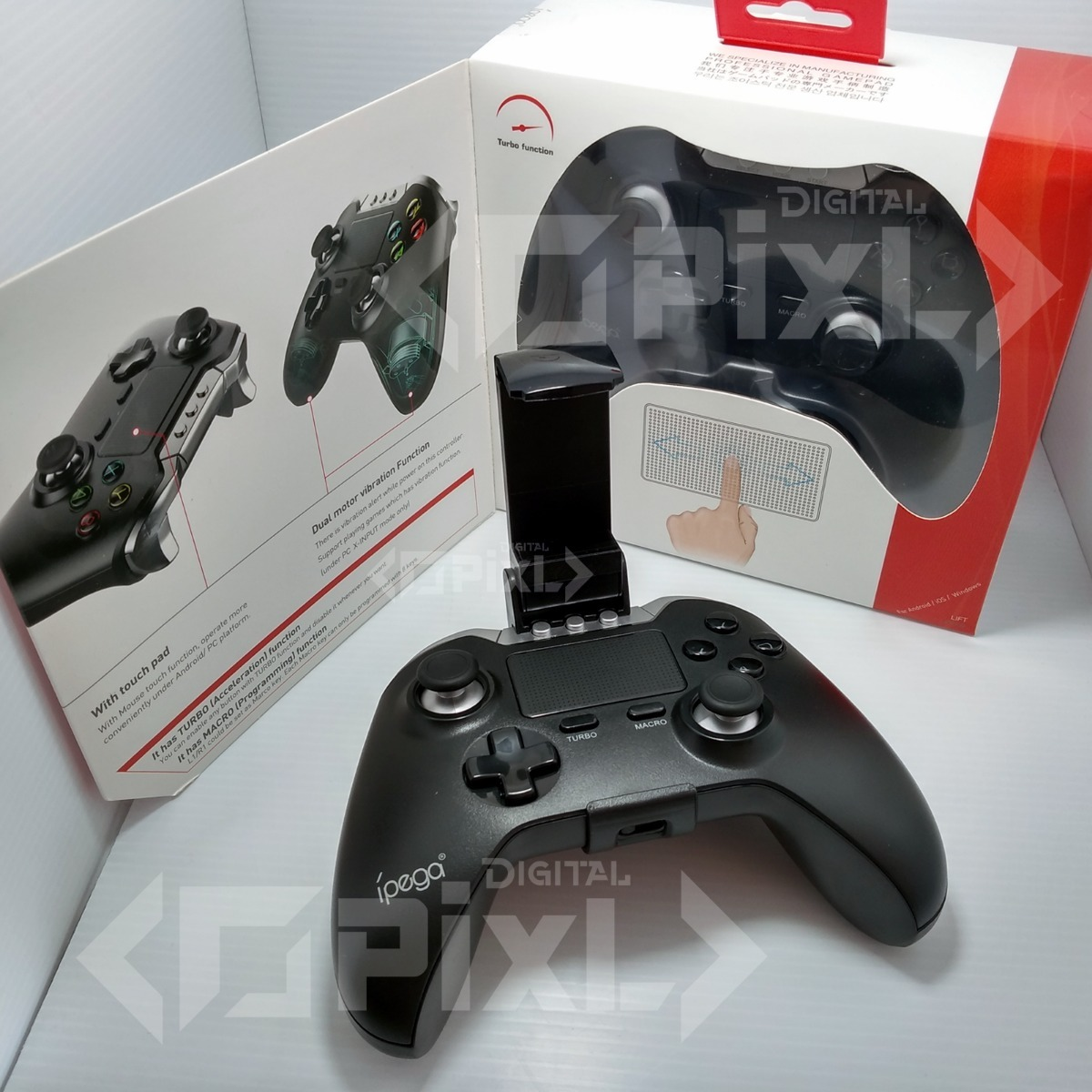Control Gamepad Con Touch Pad Ipega-9069 Bluetooth Vibration