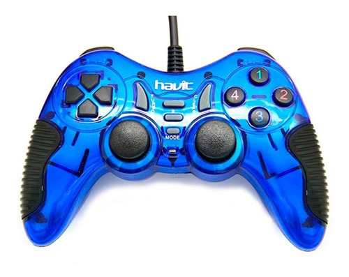 control gamepad havit usb hv-g85 usb pc laptop con vibración
