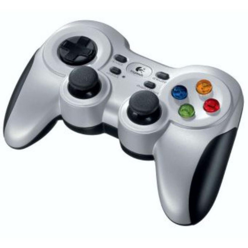 control gamepad inalámbrico logitech f710 · pc · android tv