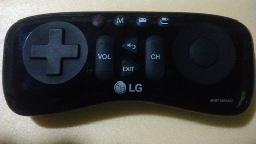 control gamepad joystick original, para smart tv lg