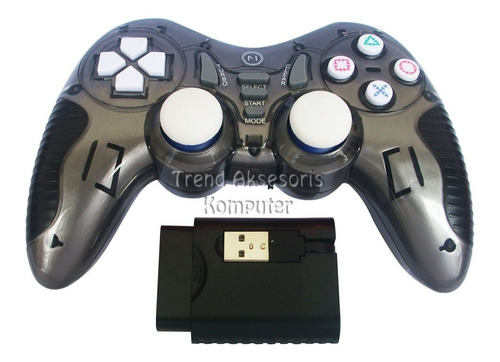 control gamepad palanca usb inalambrica pc ps2 ps3 tv box