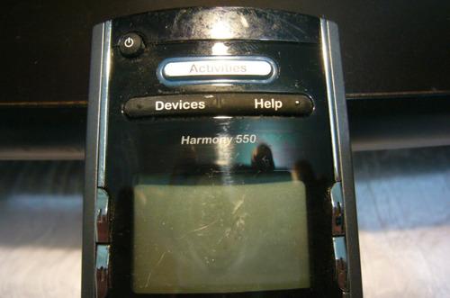 control harmony programable 550