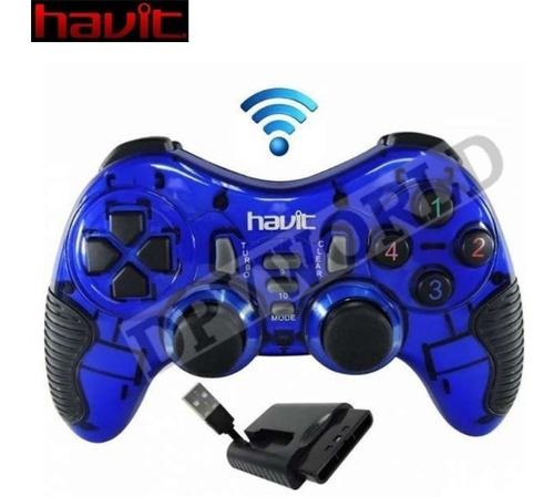 control inalambrico pc playstation 3 ps3 ps2 usb havit g89w