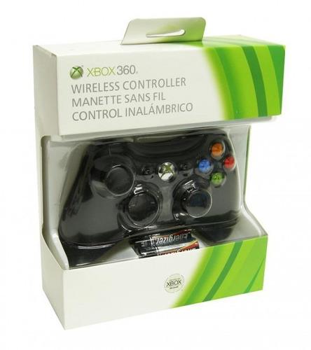 control inalambrico xbox 360