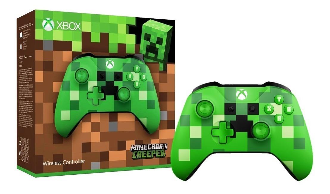 Control Inalambrico Xbox One /pc Minecraft Creeper Jack3 5mm