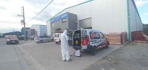 control integral de plagas, desinfección en comercios