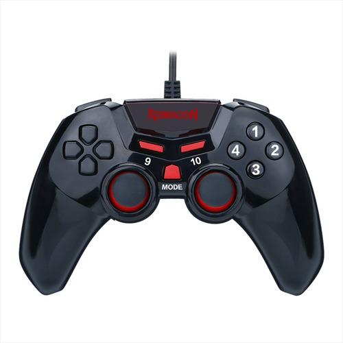 control juegos gamepad usb, pc gamer, redragon g806 seymour