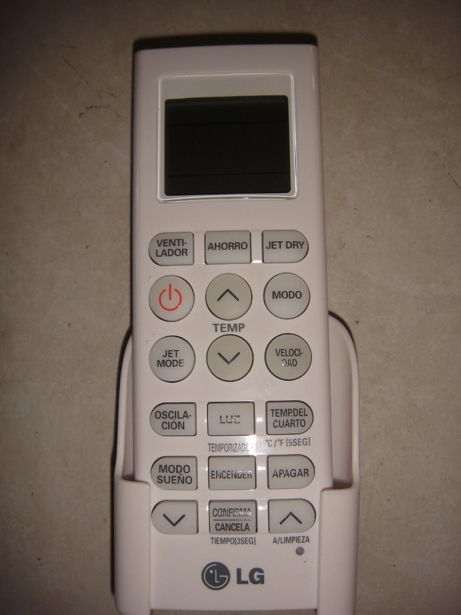 Control lg minisplit aire acondicionado original vm122cs for Manual aire acondicionado