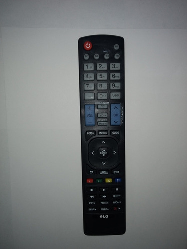 control lg para pantallas  lcd, led o plasma y con smart tv
