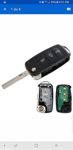 control llave mando distancia volkswagen y luces de cortesía