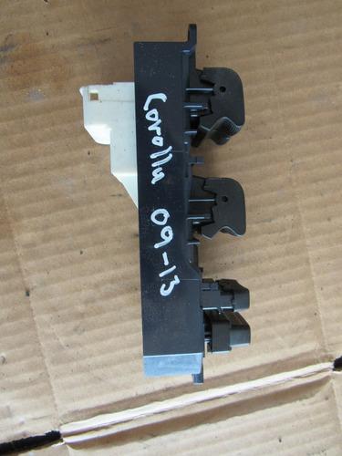 control maestro delantero izquierdo toyota corolla 09-13