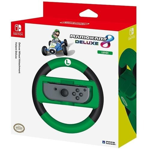 control  mario kart 8 deluxe wheel (luigi)