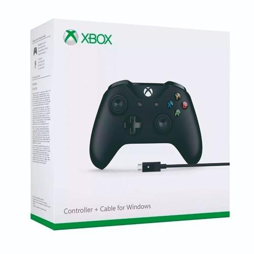 control microsoft xbox one inalambrico nuevo + cable usb