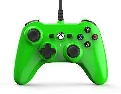 control mini xbox one/pc power a verde nuevo (en d3 gamers)