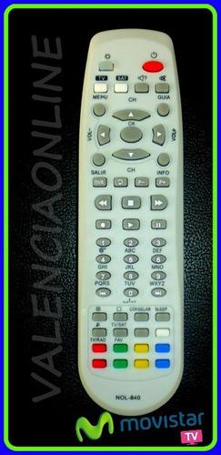 control movistar tv para decodificadores dsb-646v y dsb-636v