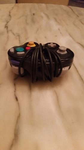 control negro de gamecube