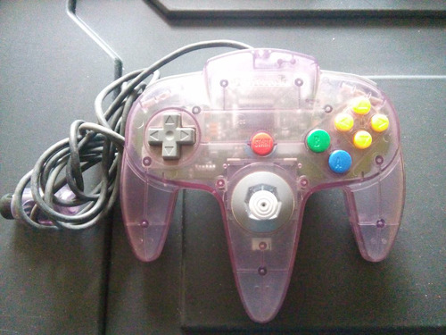 control nintendo 64 atomic purple trqs clear morado