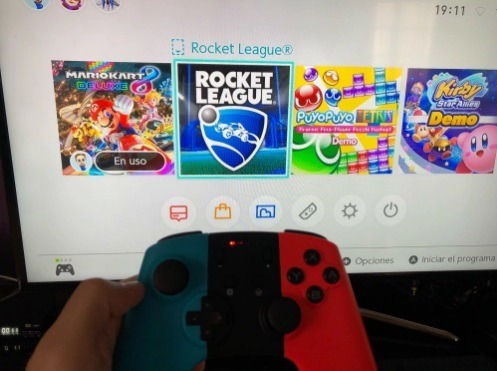 Control Data Frog Inalámbrico Nintendo Switch Pc Android