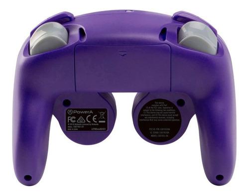 control nintendo switch wireless game cube style purple