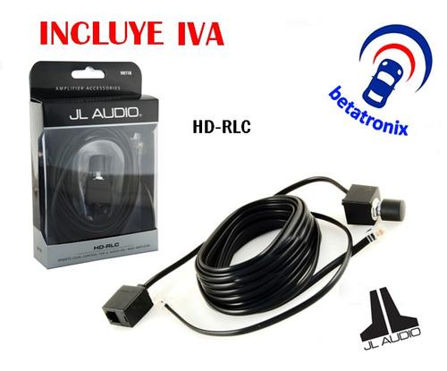 control nivel remoto frecuencias amplificador jl audio hdrlc