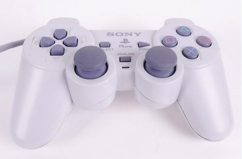 control original dualshock blanco ps1