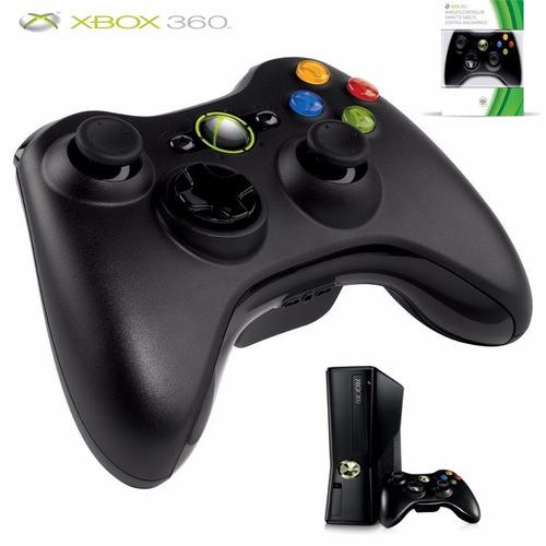 control original inalambrico negro  xbox 360 microsoft hdz