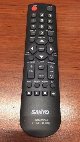 control original sanyo para pantallas tv