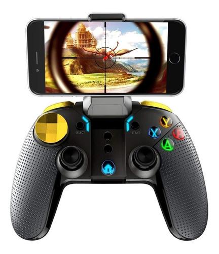 control palanca bluetooth para android pc ipega pg 9118 led