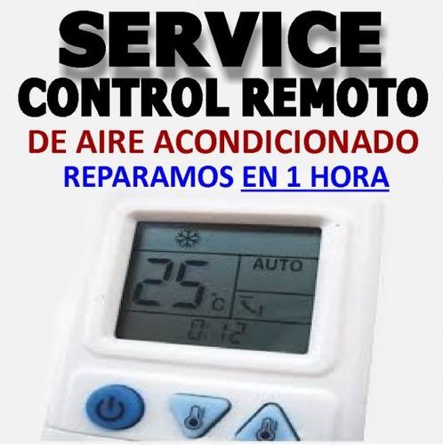 control para aire acondicionado reparamos en 1 hora