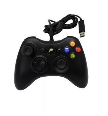 control para consola de videojuegos xbox 360 alambrico