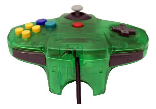 control para nintendo n64 mars devices color verde