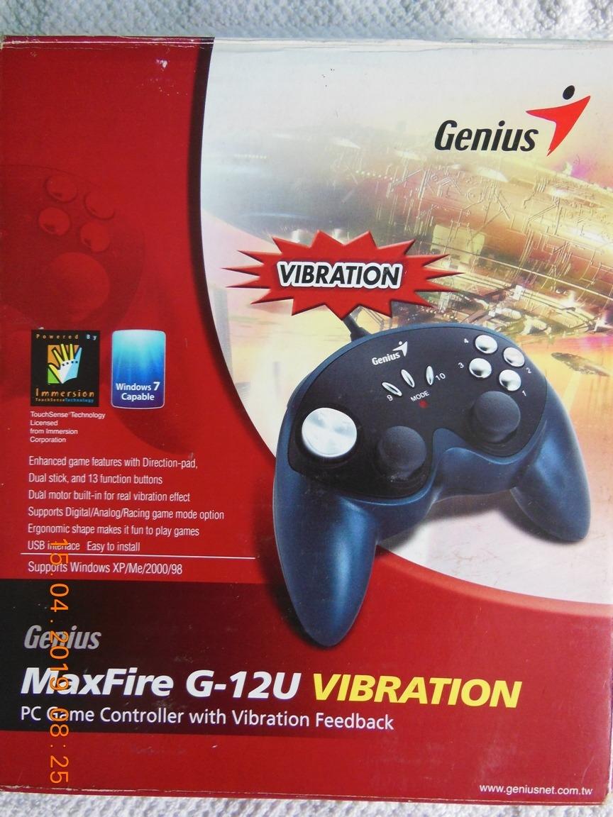 GENIUS MAXFIRE G-12U VIBRATION USB DRIVER PC