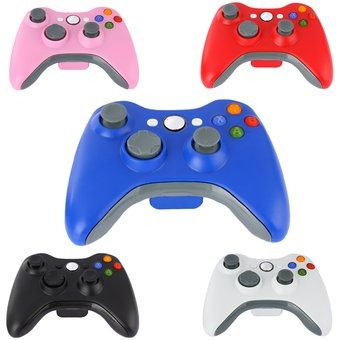 control para xbox 360 alambrico colores compatible pc