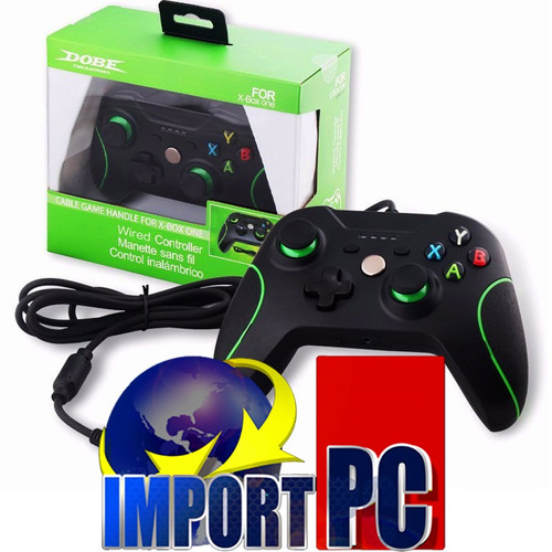 control para xbox one alambrica 100% nueva de paquete