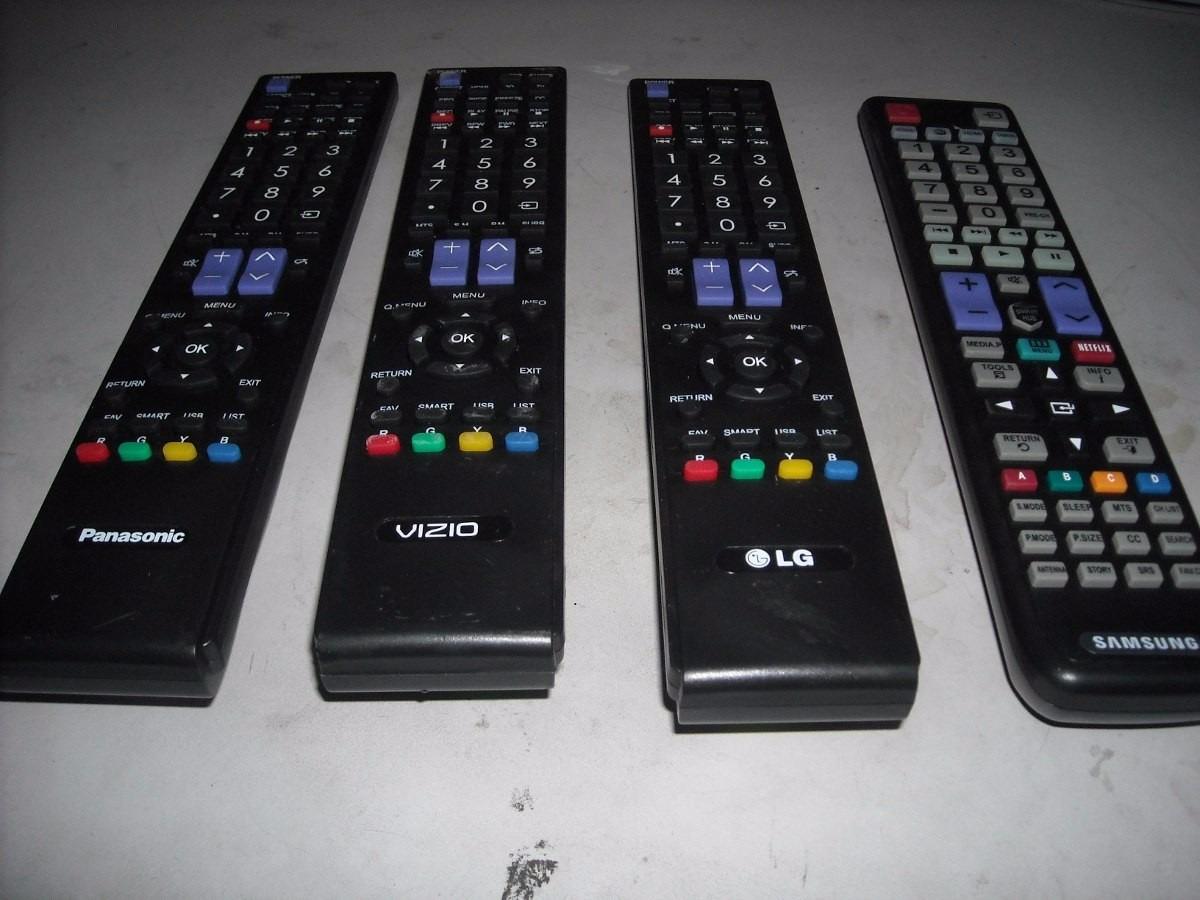 Control Plasma Sansung  Smart Tv 3d   Lg  Panasonic  Vizio